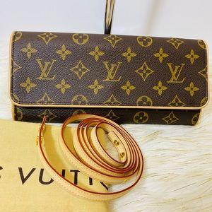 Louis Vuitton Twin Gm pochette sling